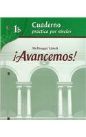 9780618782178: ¡Avancemos!: Cuaderno: Practica por niveles (Student Workbook) with Review Bookmarks Level 1B (Spanish Edition)