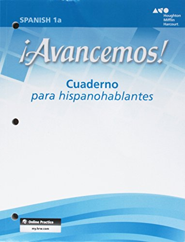 9780618782666: ¡Avancemos!: Cuaderno para hispanohablantes (Student Workbook) with Review Bookmarks Level 1A (Spanish Edition)