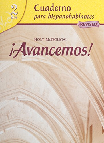 Avancemos + Lesson Review Bookmarks: