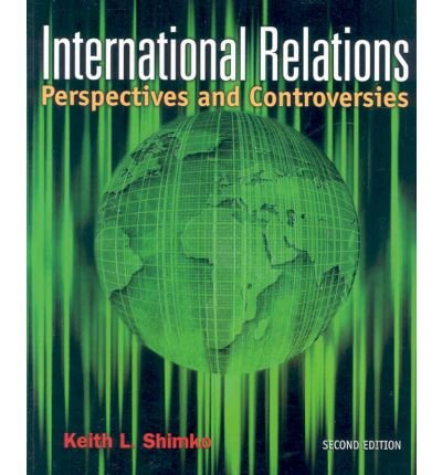 9780618783502: International Relations: Perspectives and Controversies