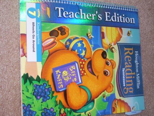 9780618784165: Houghton Mifflin Reading Tennessee: Teacher's Edition Grade K, Theme 7 Wheels Go Round
