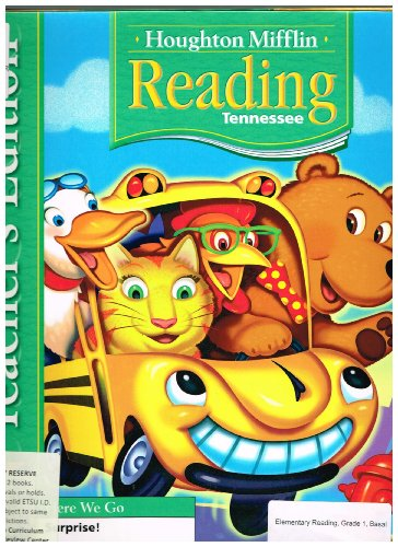 Reading, Grade 1, Level 1.1, Theme 2, Here We Go: Surprise! Tennessee Teacher's Edition (2007 ...