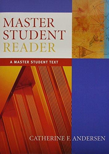 Master Student Reader: Master, Student