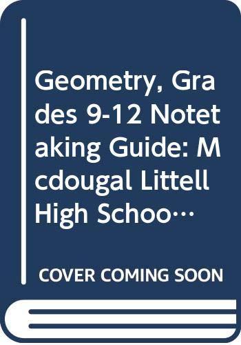 9780618789078: Holt McDougal Larson Geometry: Notetaking Guide