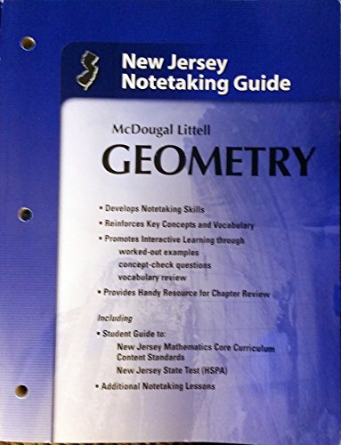 9780618789146: Holt McDougal Larson Geometry: Notetaking Guide