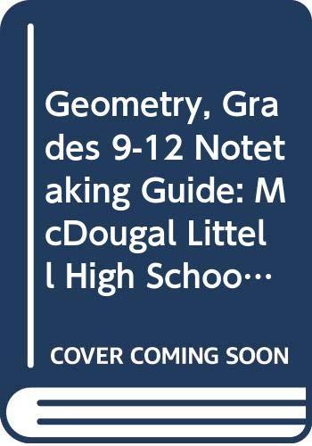 9780618789153: Holt McDougal Larson Geometry: Notetaking Guide