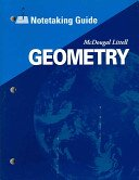 9780618789191: Holt McDougal Larson Geometry: Notetaking Guide Geometry