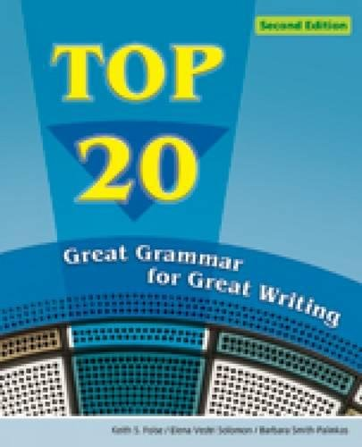 Download Top 20: Great Grammar for Great Writing