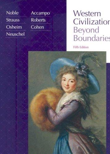 9780618794249: Western Civilization: Beyond Boundaries