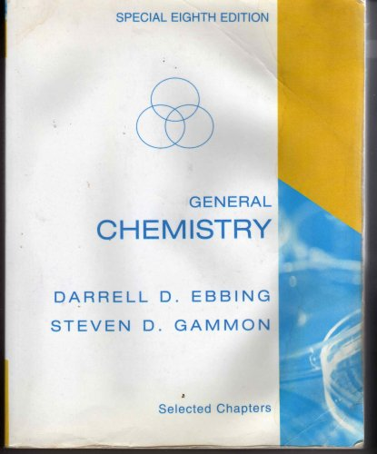9780618797042: General Chemistry, Special Eighth Edition