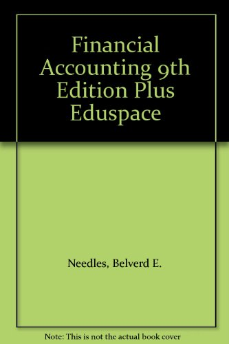 9780618798407: Financial Accounting 9th Edition Plus Eduspace