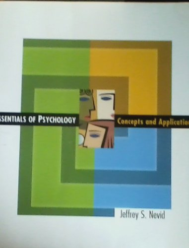 9780618799091: Essentials of Psychology : Concepts and Applications