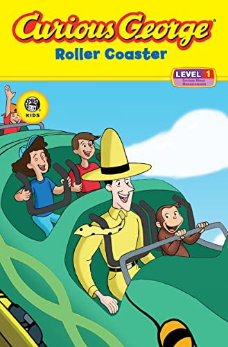 9780618800407: Curious George Roller Coaster (CGTV Reader)