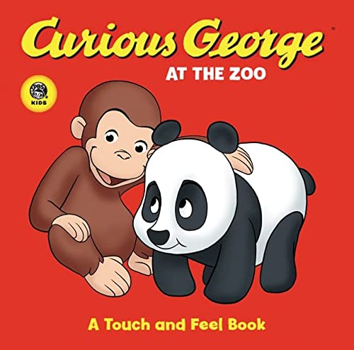 9780618800421: Curious George at the Zoo: A Touch and Feel Book