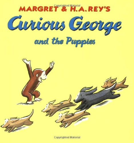 9780618800650: Curious George and the Puppies Book & CD