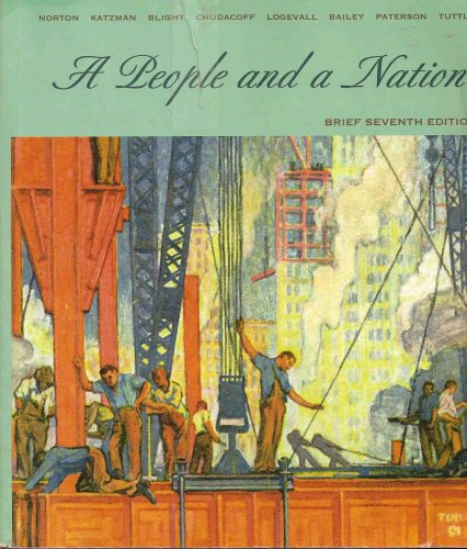 9780618801152: A People and a Nation (Brief Seventh Edition)