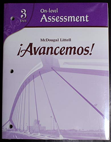 9780618801336: ?Avancemos!: Differentiated Assessment Program Level 3 (Spanish Edition)