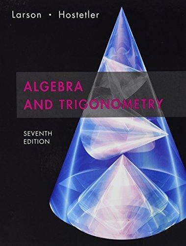 9780618802074: Algebra and Trigonometry
