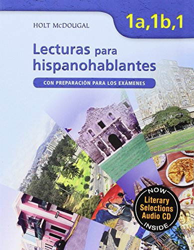 9780618802272: ¡Avancemos!: Lecturas para hispanohablantes (Student) with Audio CD Levels 1A/1B/1 (Spanish Edition)