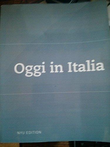 9780618802333: Oggi in Italia: A First Course in Italian (NYU EDITION)