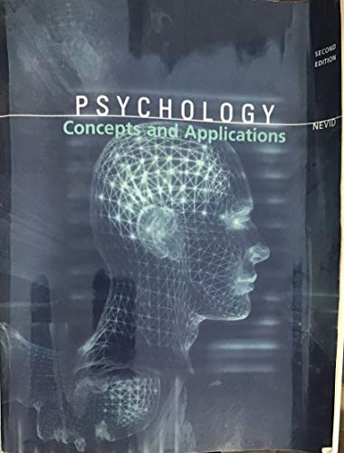 9780618802807: Psychology, Custom Publication
