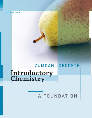9780618803279: Introductory Chemistry: A Foundation 6e (Chapters 1-21)
