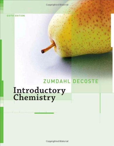 9780618803293: Introductory Chemistry (Chapters 1-19)