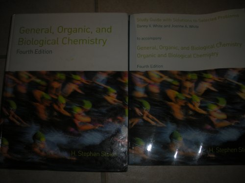 9780618805419: Organic And Biological Chemistry 4th Edition Plus General Organic And Biological Study Guide With Solutions 4th Edition