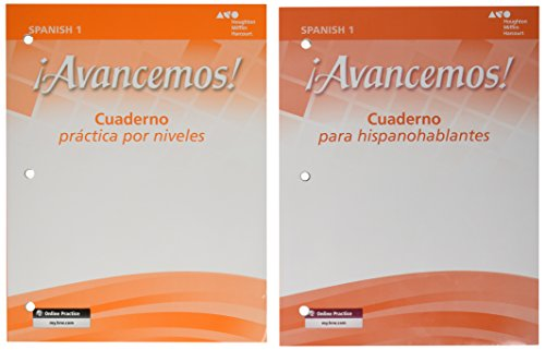 9780618807161: ¡Avancemos!: Workbook Package Level 1 (Spanish Edition)