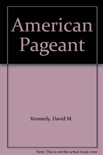 9780618809493: 1: American Pageant