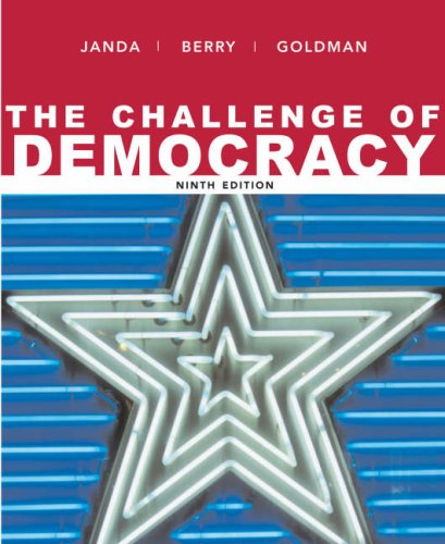 9780618810178: The Challenge of Democracy: Government in America