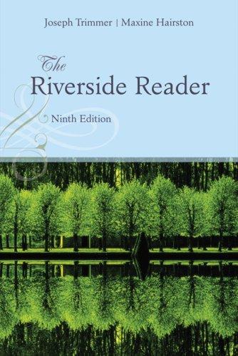 9780618811250: The Riverside Reader