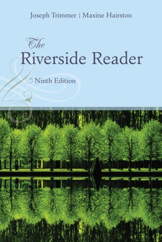 The Riverside Reader: Trimmer, Joseph F.,