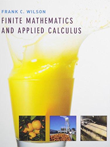 9780618815104: Finite Mathematics and Applied Calculus + Eduspace
