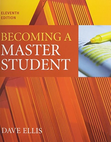 9780618815913: Becoming a Master Student