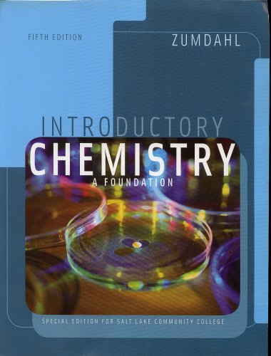 9780618816194: Introductory Chemistry: A Foundation