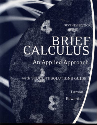 9780618816484: BRIEF CALCULUS AN APPLIED APPROACH 7TH ED (7TH EDITION)
