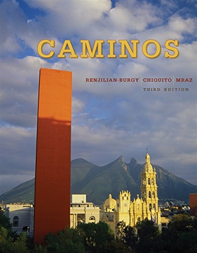 9780618816842: Caminos, 3rd Edition