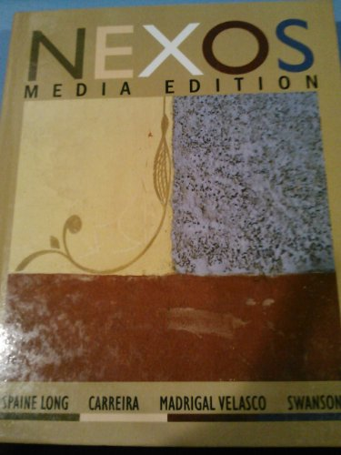 9780618821457: Nexos Media Edition