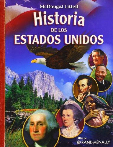 9780618821600: McDougal Littell Middle School American History: Spanish Student Edition 2008 (Spanish Edition)