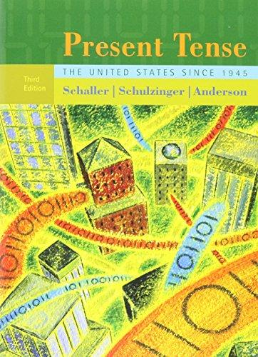 9780618826025: Present Tense
