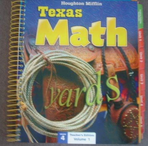 Texas Math; Teacher's Edition: Grade 4 (Volume: Kay Frantz, Mary