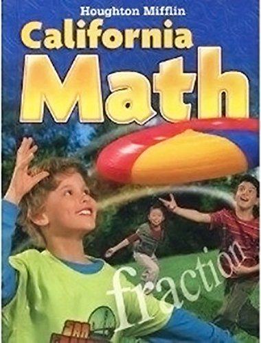 9780618827404: Houghton Mifflin Mathmatics California: Student Edition Level 4 2009