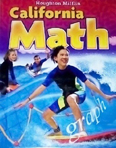 9780618827428: California Math (Student Edition, Grade Level 6)