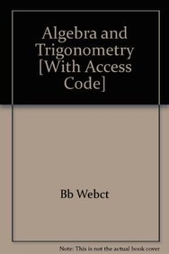 9780618828623: Algebra and Trigonometry