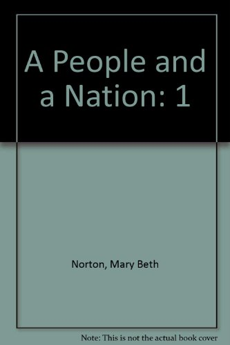 9780618828883: A People and a Nation