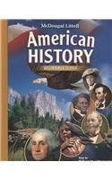 9780618829019: McDougal Littell Middle School American History: Student Edition Beginnings to 1914 2008