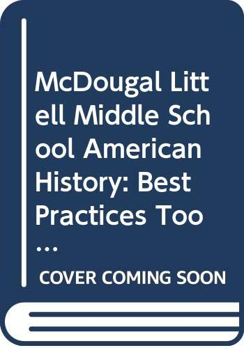 9780618829118: McDougal Littell Middle School American History: Best Practices Toolkit