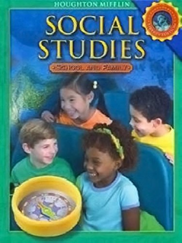9780618830893: Houghton Mifflin Social Studies: Student Edition Level 1 School and Family 2008