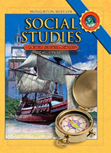 9780618830947: Houghton Mifflin Social Studies: Student Edition Level 5 U.S. History: The Early Years 2008